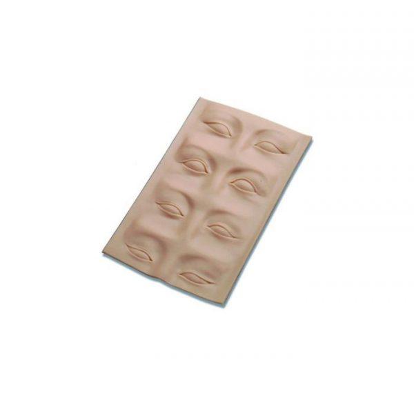3D oefenhuid wenkbrauw/ooglid
